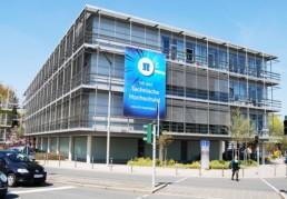 Neue Fassade für Hochschulgebäude | TH Nürnberg