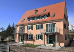 Generalsanierung der Fassade eines Mehrfamilienhaus | Roßtal