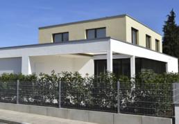 Fassadendämmung einer Moderne Villa | Nürnberg